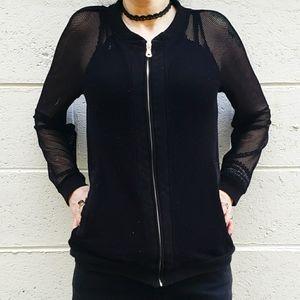 Black Fishnet Jacket